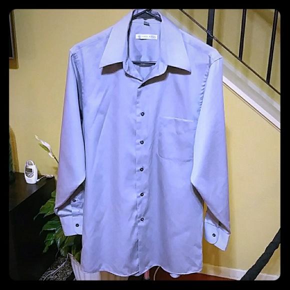 Geoffrey Beene Other - Geoffrey Beene Silver Long Sleeve Dress Shirt